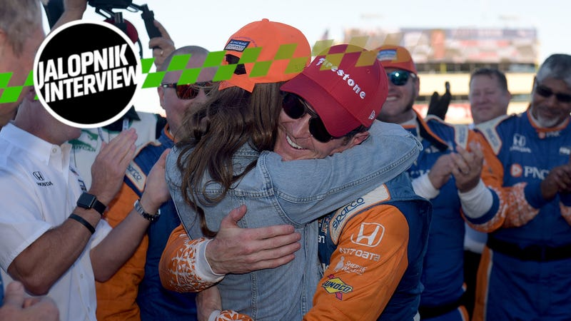 Illustration for article titled Scott Dixon On Balancing IndyCar Championships With Having A Real Life