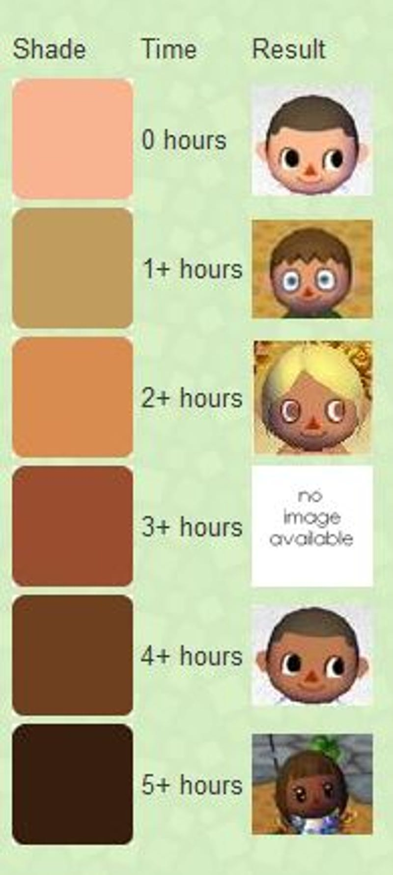New leaf hair colors best hair color 2017 - Animal crossing wild world hair salon ...