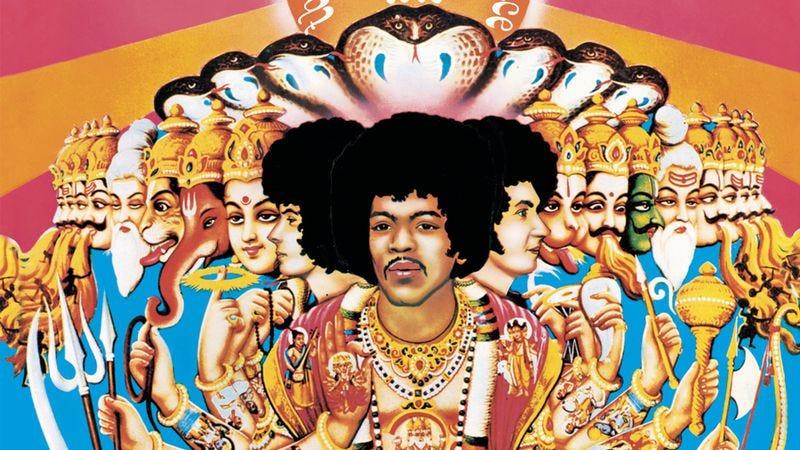 The Jimi Hendrix Experience's Axis: Bold As Love