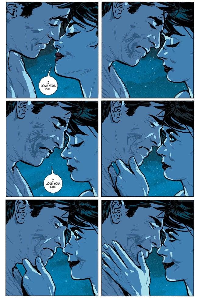 Batman en Catwoman hook up