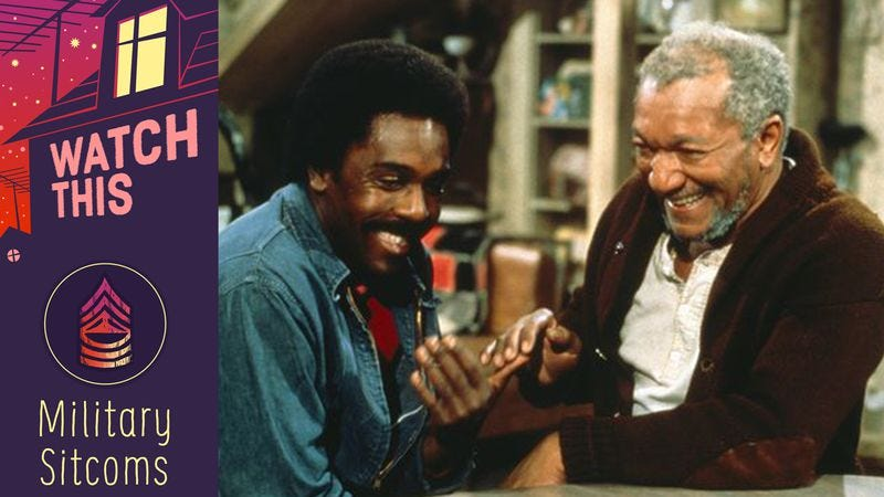 Illustration for article titled Before Fred Sanford became a junkman, he earned a Purple Heart… or so he says