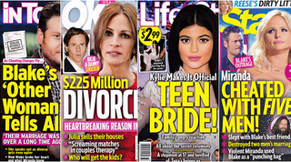 Illustration for article titled This Week In Tabloids: Kylie and Tyga Are Literally Allegedly Married