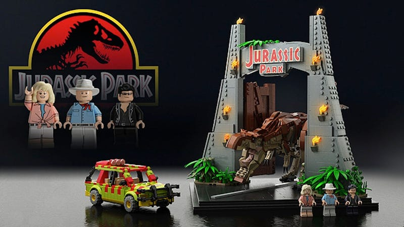 Illustration for article titled This Jurassic Park Lego Set Could Become Official