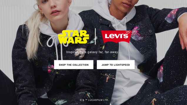 It s Not a Trap! It s the New Star Wars x Levi s Collection.