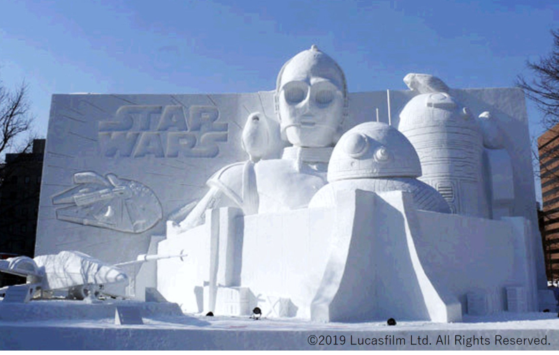 Illustration for article titled The Best Japanese Snow Sculptures Of 2019