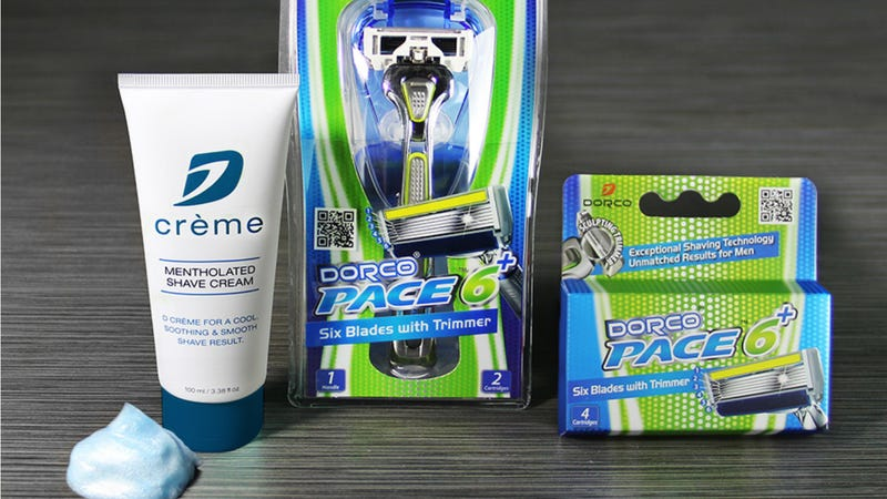 Dorco Pace 6 Plus Combo, $11 with code KINJAT4