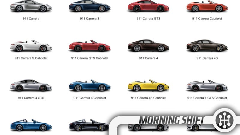 Illustration for article titled Carmakers Starting To Realize They Make Too Many Damn Models