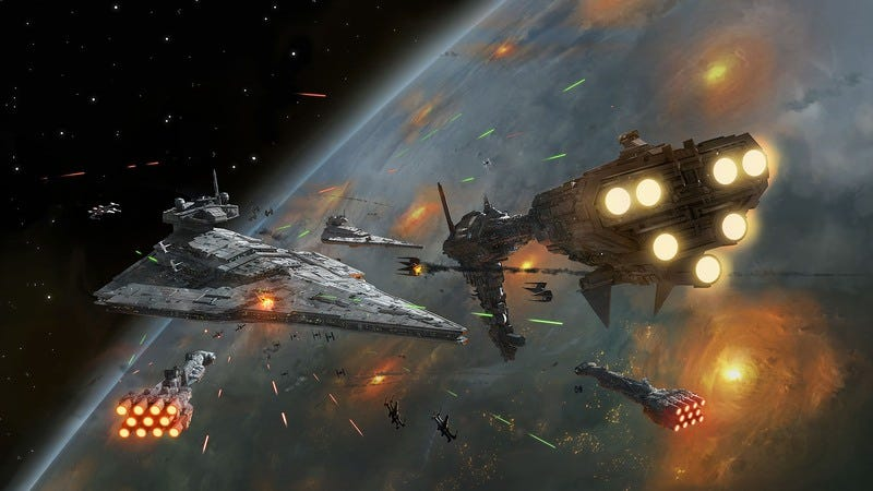 From the box art of Star Wars: Armada