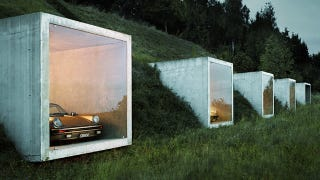 Illustration for article titled This Swiss Mountain Is Our New Dream Garage