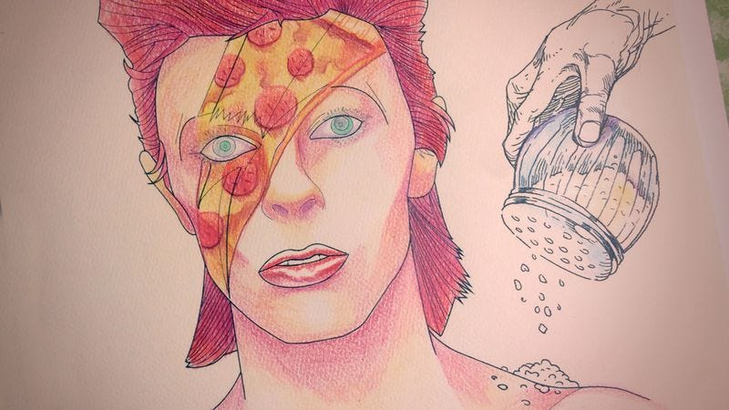 David Bowie Starman A Coloring Book Colors By Nick Wanserski