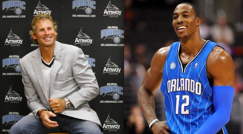 Illustration for article titled Orlando Magic CEO Steps Down, Allegedly After A Late Night Drunk Dial To Dwight Howard