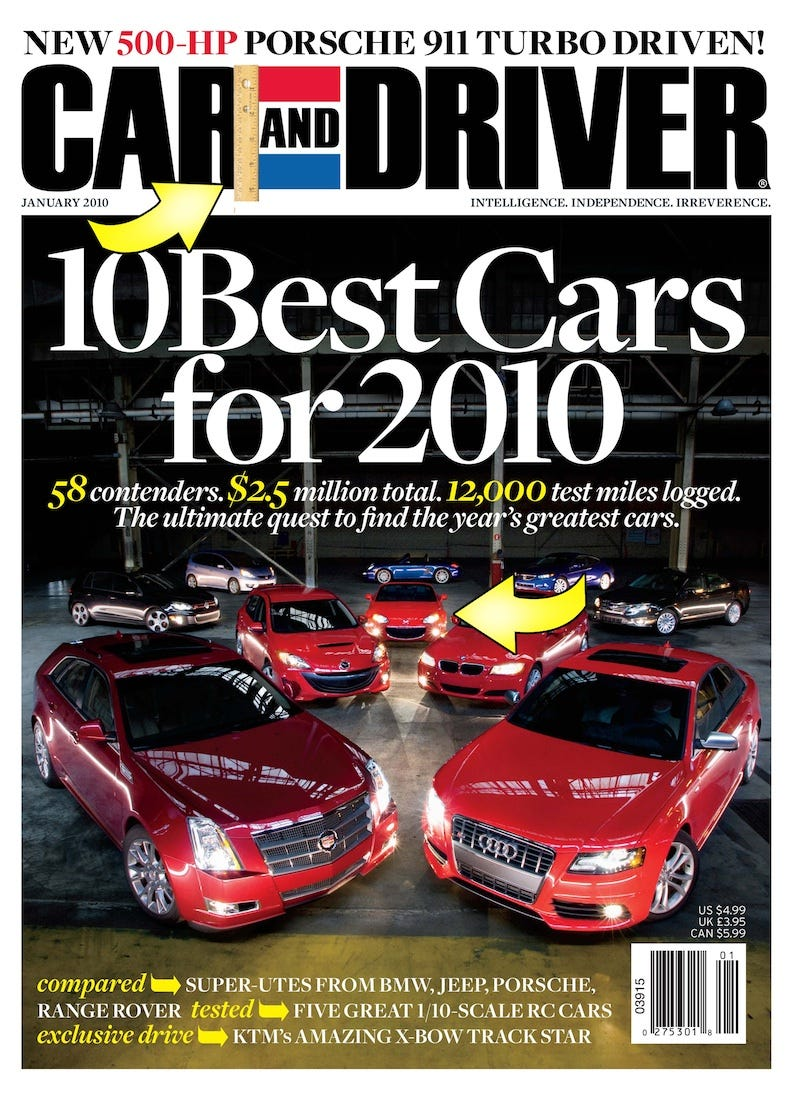 January s issue of car and driver magazine sees what many would term a major redesign we ve asked eddie alterman the new c d editor in chief