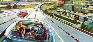 Illustration for article titled Self-Driving Cars Will Hit California's Roads in September