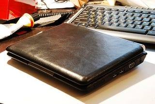 Illustration for article titled Cow Dies Needlessly to Coat Eee PC in Horrid Leather Modding