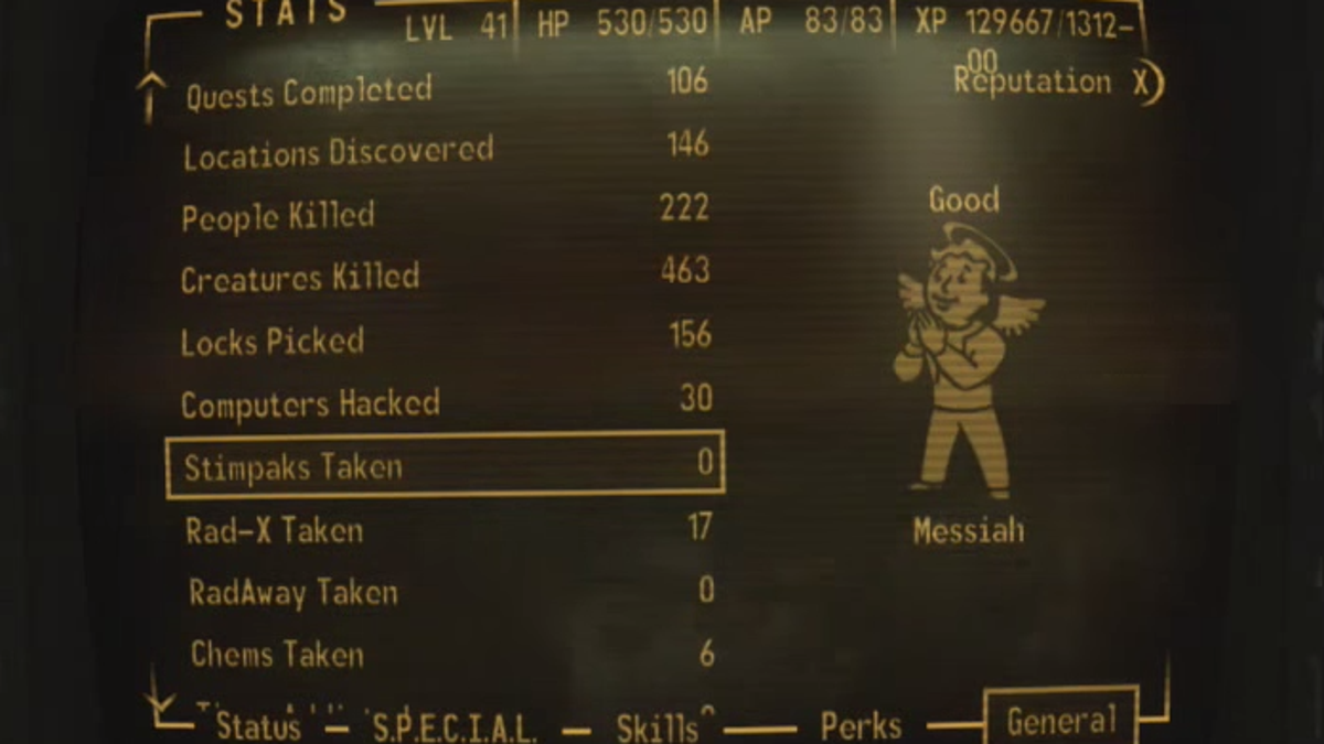 Hero Completes Fallout: New Vegas Run That Nobody Thought ...