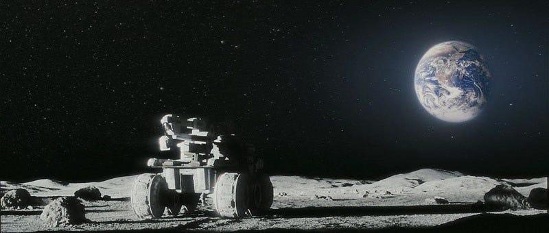 Still form Duncan Jones' 2009 film Moon.