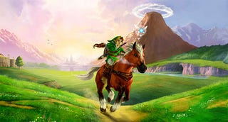 Illustration for article titled Ocarina Of Time Speedrun Record Beaten With Near-Perfect Game