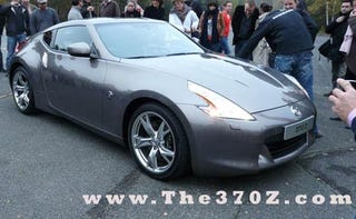 Illustration for article titled 2009 Nissan 370Z Spotted Naked In Europe But Not On A Beach