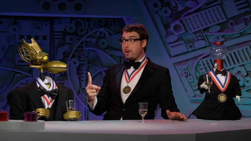 Jonah Ray and the gang like to riff in style.