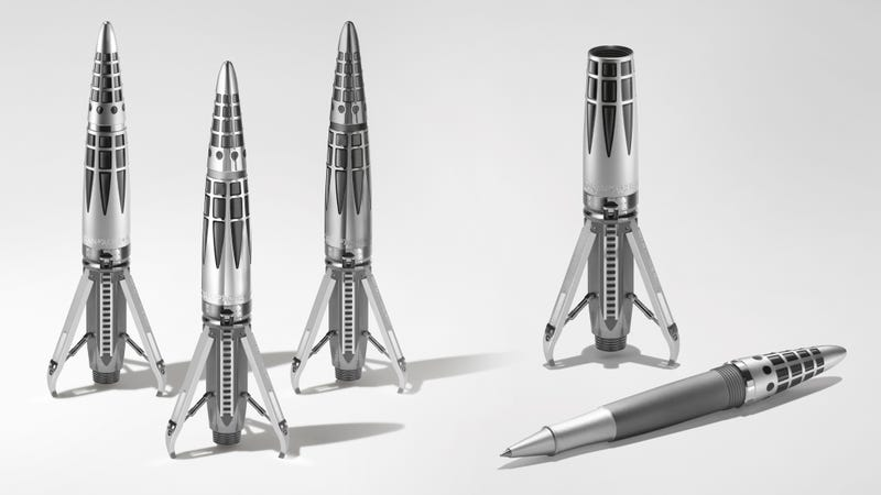 Illustration for article titled I Probably Shouldn't Spend $20,000 On This Gorgeous Moon Landing-Inspired Pen, Right?