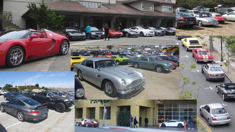 Illustration for article titled The Best Part Of Pebble Beach Is The Parking Lots