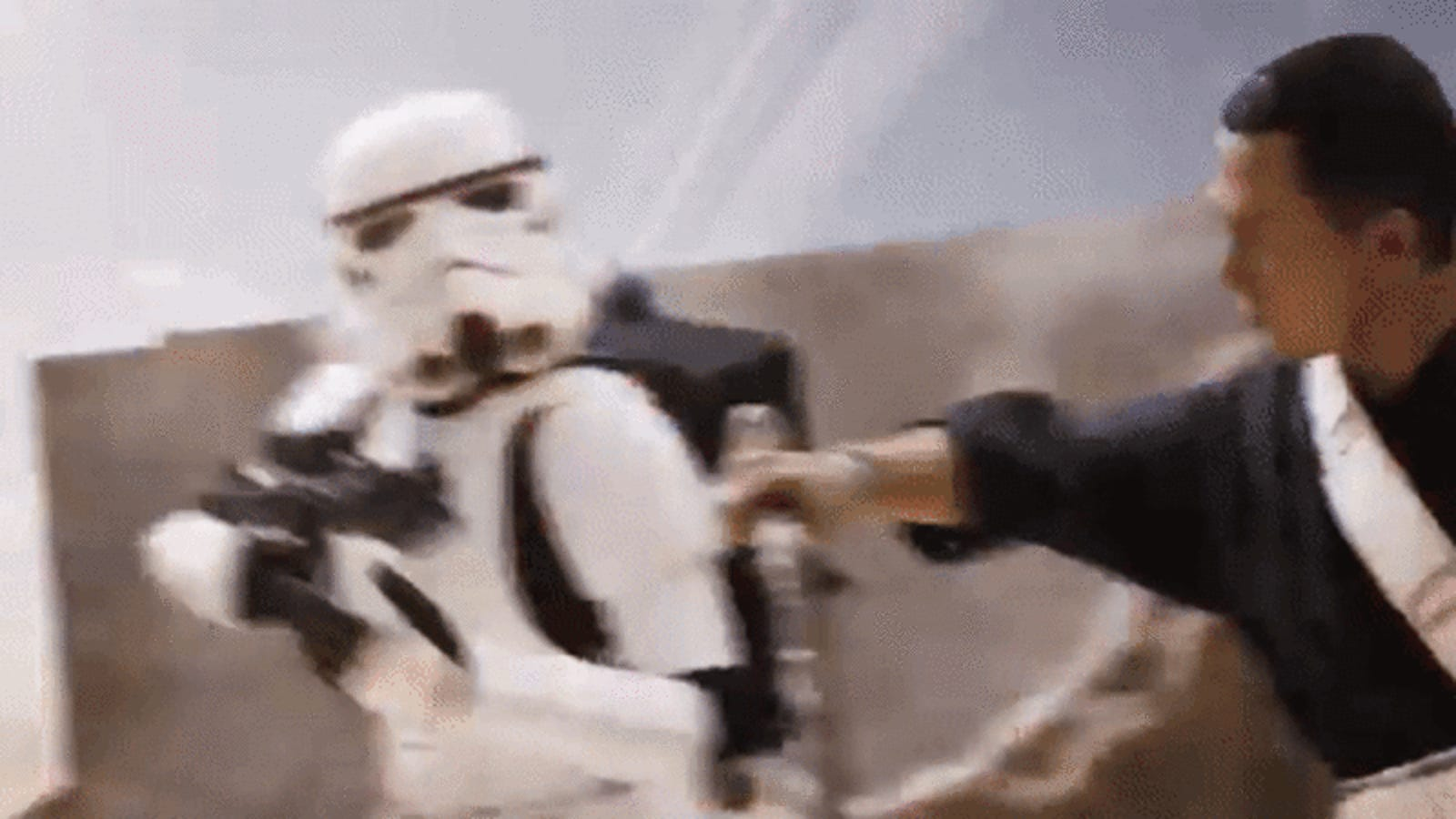 And Now, Hot Toys' Chirrut Imwe Figure Kicking the Crap Out of Some Stormtroopers