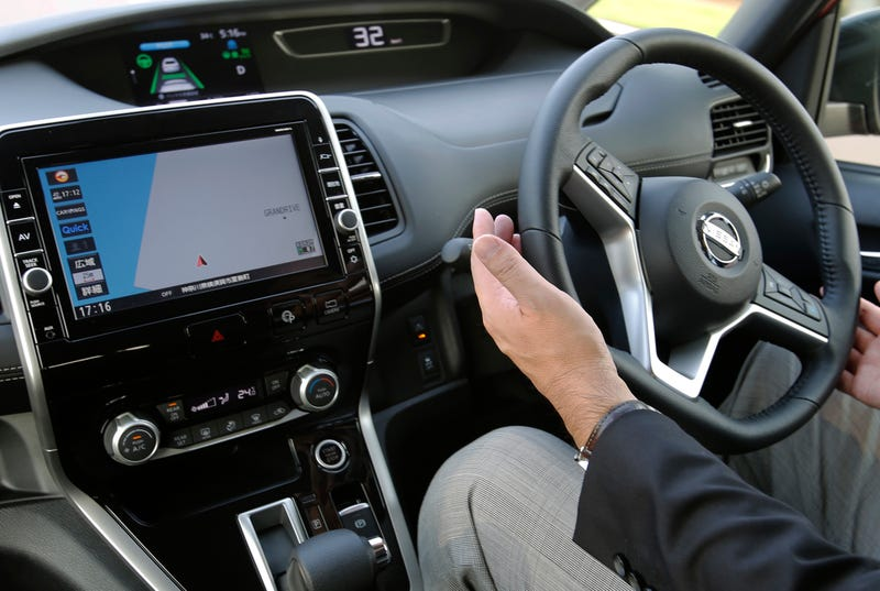 Nissan's deputy general manager has some faith in the ProPilot system (Image: Shizuo Kambayashi/AP)