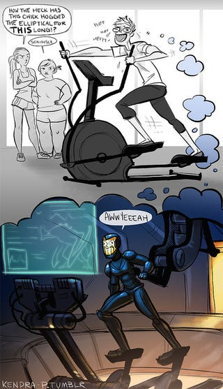 Illustration for article titled Next Time I Go to the Gym, Pacific Rim Will Be On My iPod