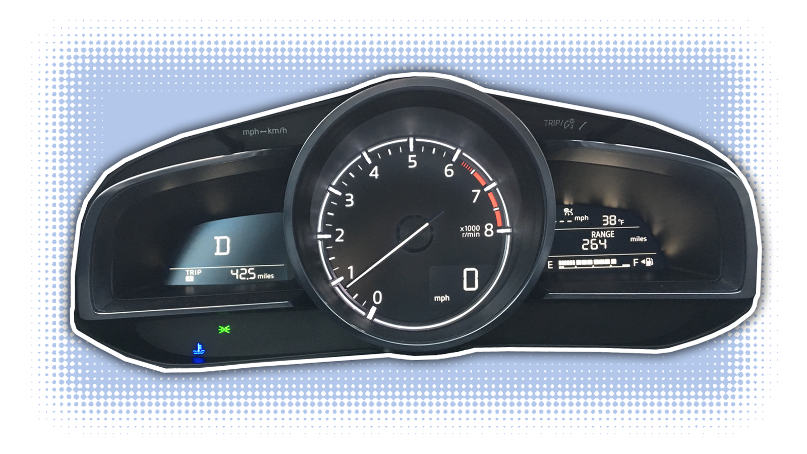 The 2018 Mazda 3 May Have The Best No-Bullshit Instrument Cluster Right Now