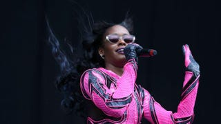 Azealia Banks performs at the Wireless Festival at Finsbury Park in London July 5, 2014.Tim P. Whitby/Getty Images