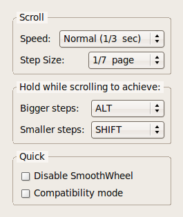 Illustration for article titled Smoother scrolling with SmoothWheel