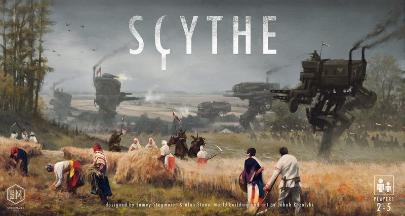 Scythe | $56 | Amazon