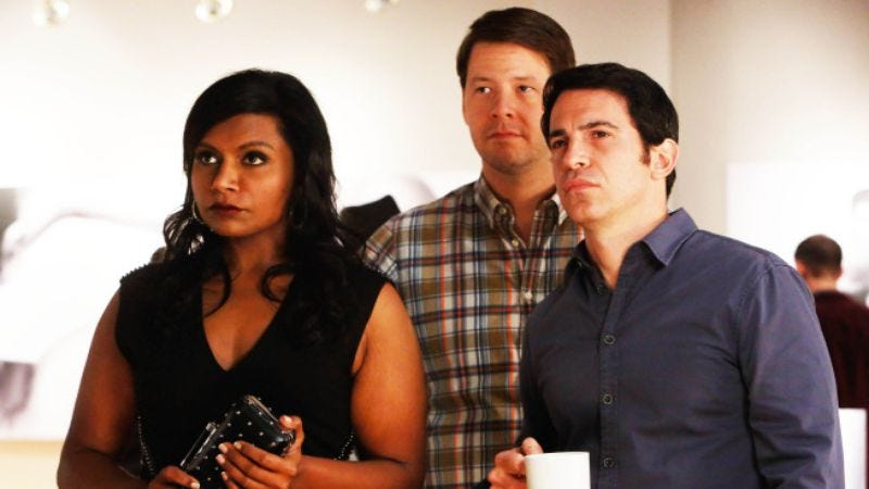 """Illustration for article titled The Mindy Project: """"Wiener Night"""""""
