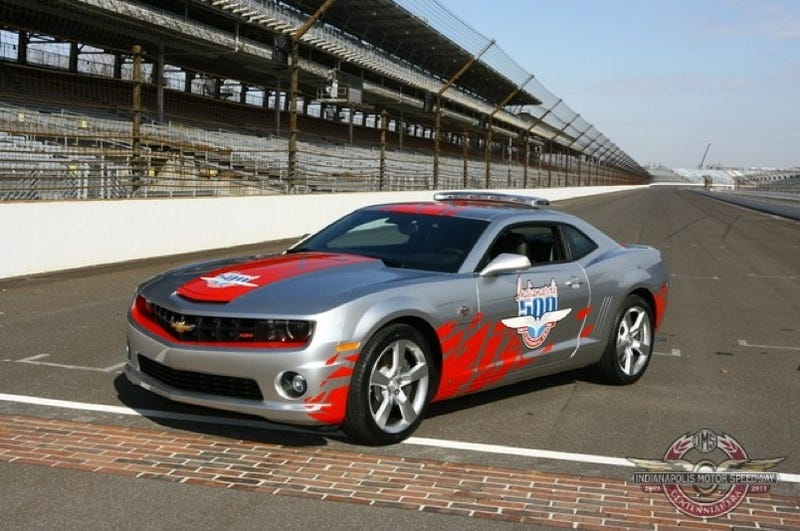 Illustration for article titled 2010 Chevy Camaro Is The New Indy 500 Pace Car