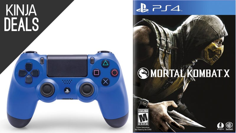 Illustration for article titled This Mortal Kombat Bundle Comes with a Blue DualShock 4