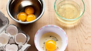 Illustration for article titled Use the Three Bowl Method When Separating Egg Whites