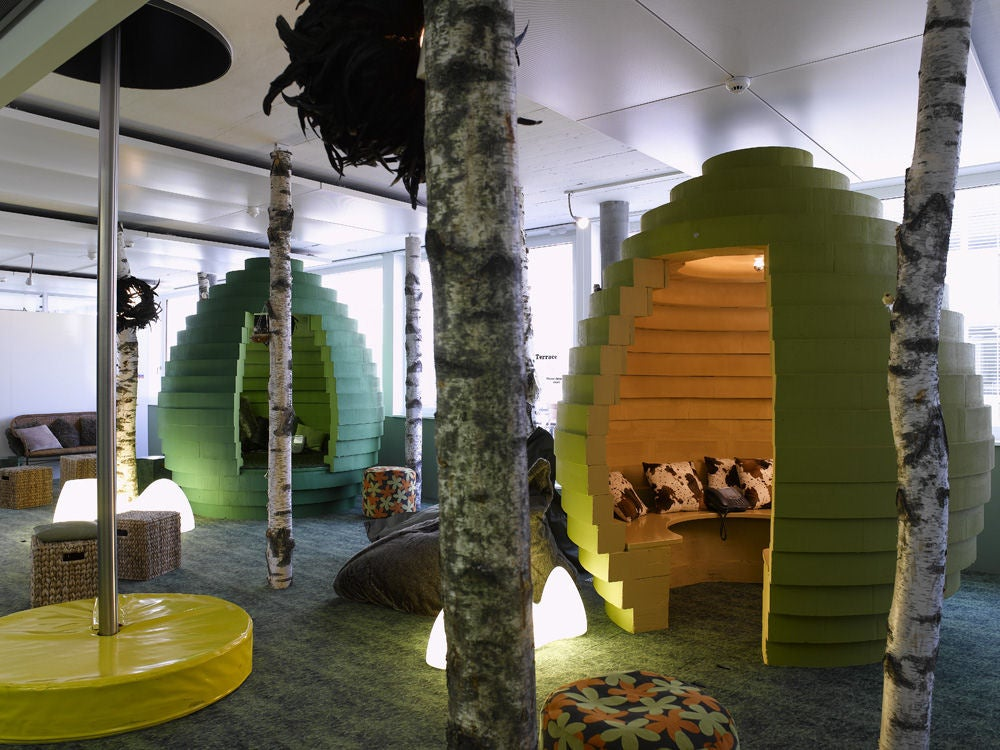 Googles Swiss Headquarters Blend A Lot of Fun With Some Function