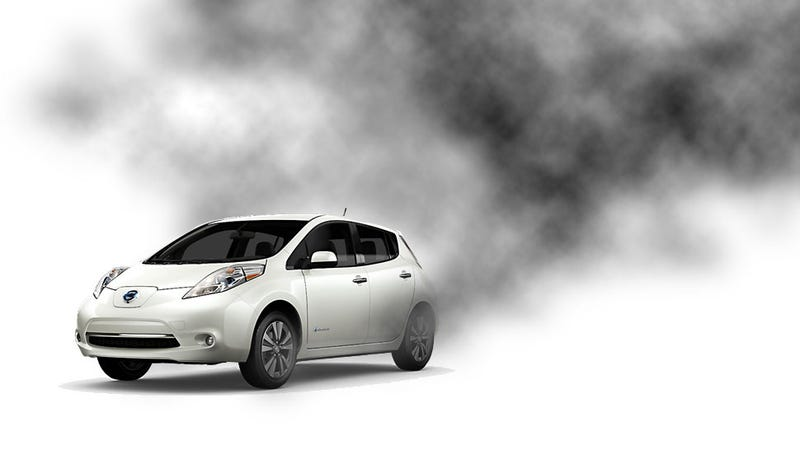 Illustration for article titled Electric And Hybrid Cars Might Produce As Many Toxins As Diesels
