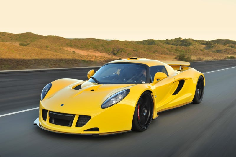 Illustration for article titled First Hennessey Venom GT lands in American hands