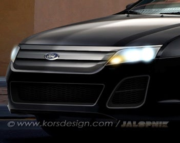 Illustration for article titled 2010 Ford Fusion: In The Nude