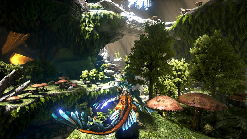 Ark: Survival Evolved Hasnu0027t Even Been Out A Week In Its Official Version  1.0 Form But That Hasnu0027t Stopped Developer Wildcard From Unveiling The  Gameu0027s ...