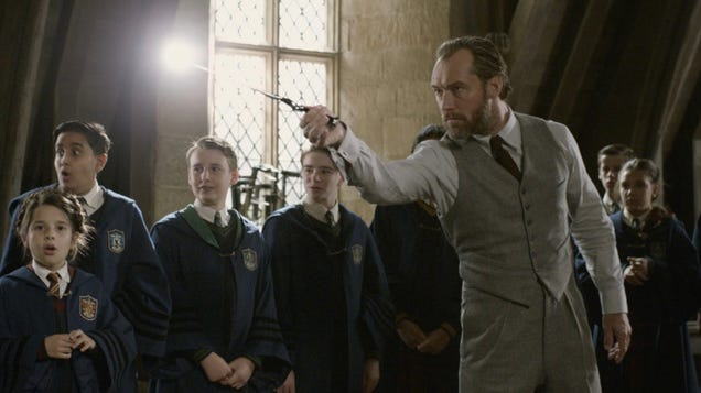 J.K. Rowling Adds More Fuel to the Dumbledore/Grindelwald Fire