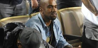 Kanye West (Juan Ocampo/Los Angeles Dodgers via Getty Images)