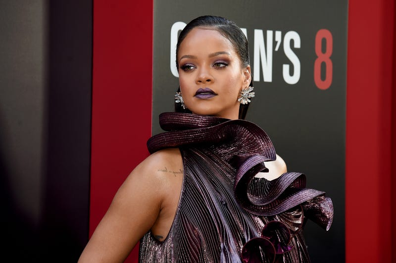 Rihanna attends the Ocean's 8 world premiere in New York City on June 5, 2018.