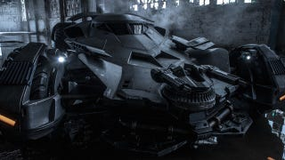 Illustration for article titled Full-Frontal Batmobile Shot Is The Stuff Of Nightmares