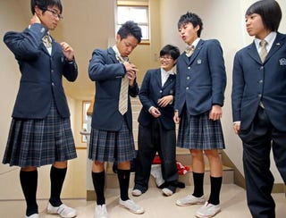 """Illustration for article titled Japanese High School Holds """"Sex Change Day"""""""