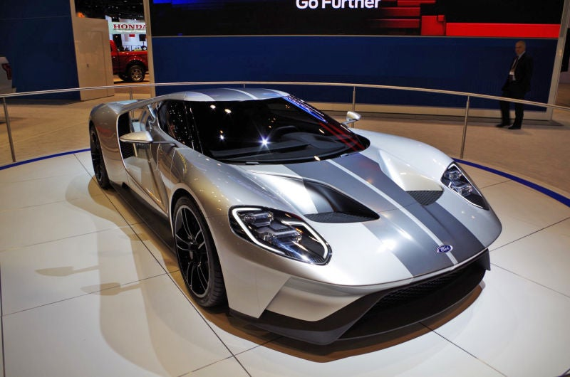 Ford Performance extends production of Ford GT supercar to two more years