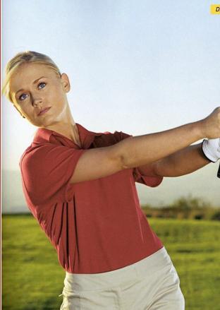 Illustration for article titled Former Lingerie Football Quarterback Is Now Golf Phenom