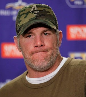 """Illustration for article titled Brett Favre Says That """"No One Including Brett Favre"""" Could Have Seen His Career Ending The Way It Did"""