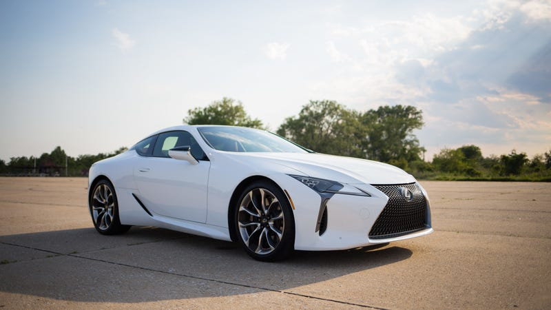 Pictured: Lexus LC500. Image credit: Kristen Lee/Jalopnik